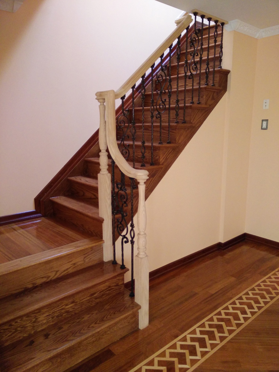 Rego Park Queens Dkp Wood Railings Amp Stairs