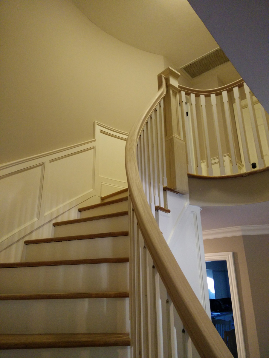 Melville Long Island Dkp Wood Railings Amp Stairs