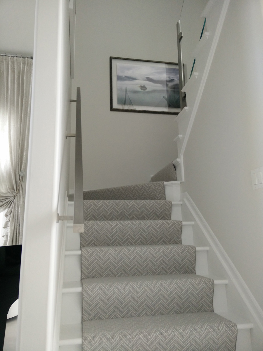 Plainview Long Island DKP Wood Railings Stairs