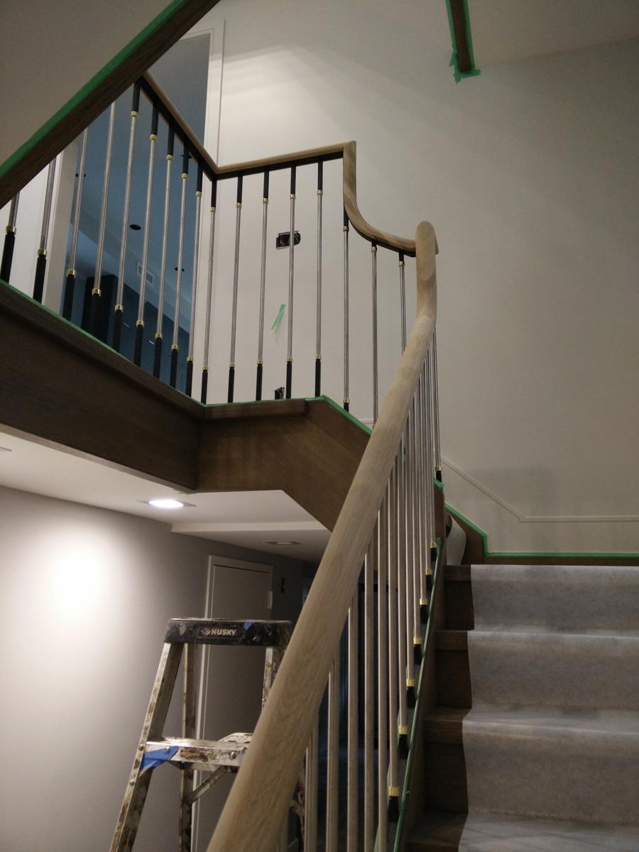 Borough Park Brooklyn Dkp Wood Railings Amp Stairs