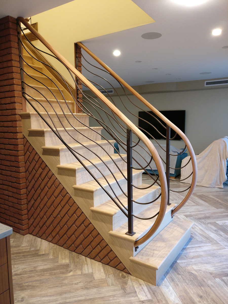Baywood Long Island DKP Wood Railings Stairs
