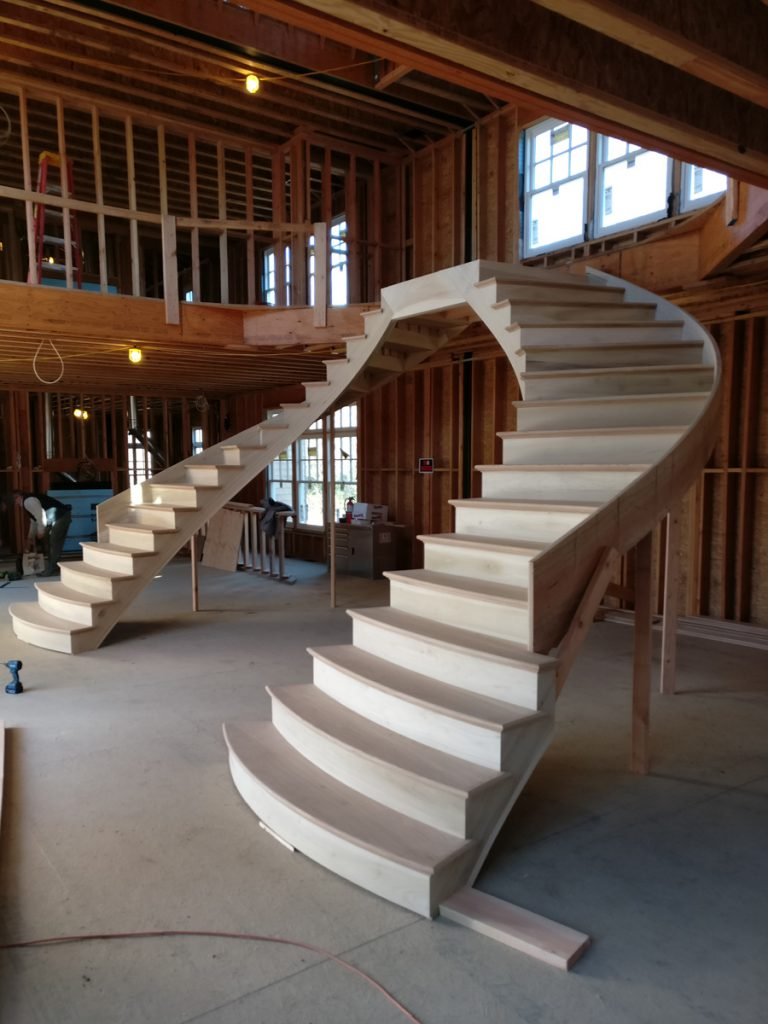 Portfolio DKP Wood Railings Stairs
