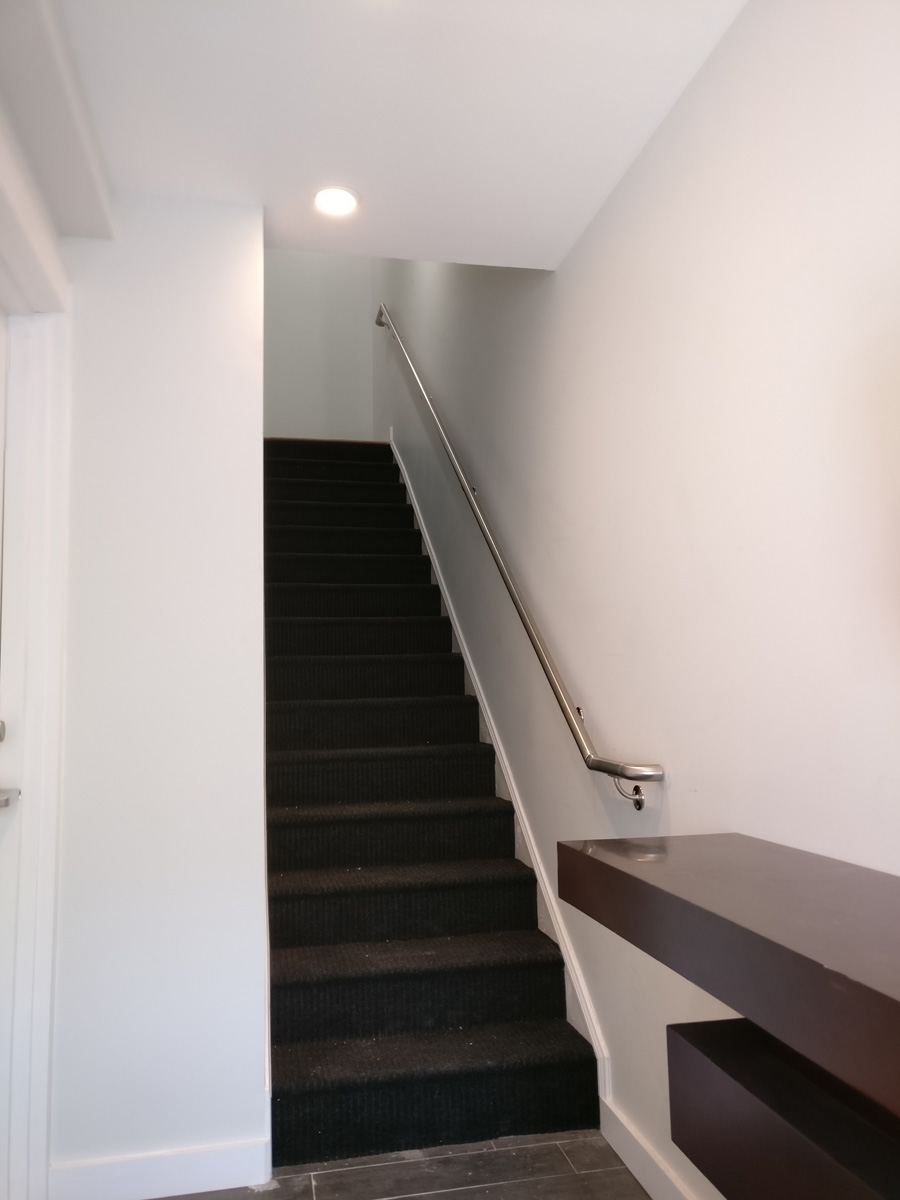 Ronkonkoma Long Island DKP Wood Railings Stairs