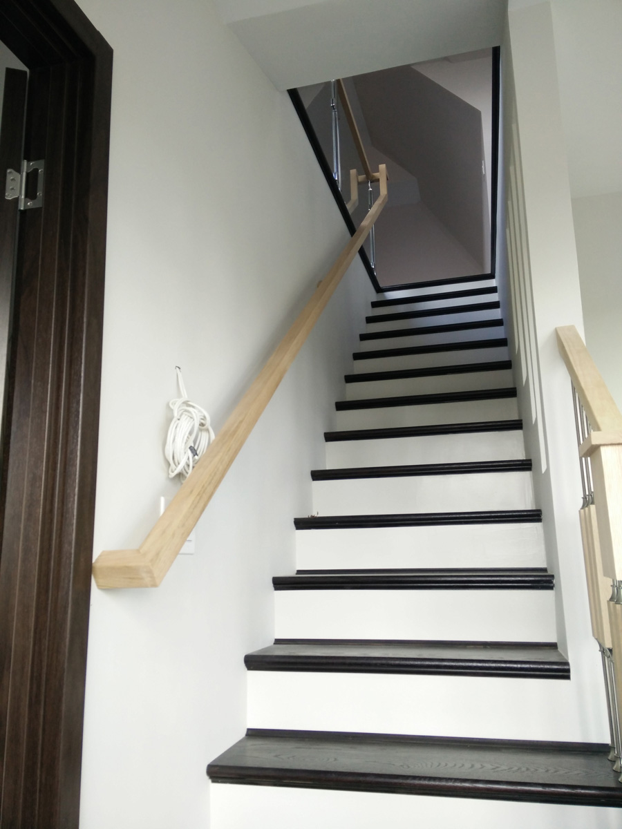 Yaphank Long Island DKP Wood Railings Stairs