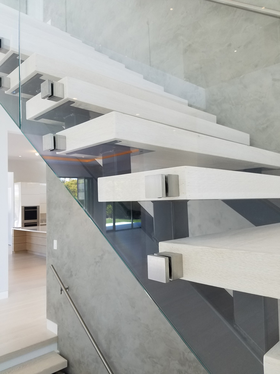 Bridgehampton Long Island DKP Wood Railings Stairs